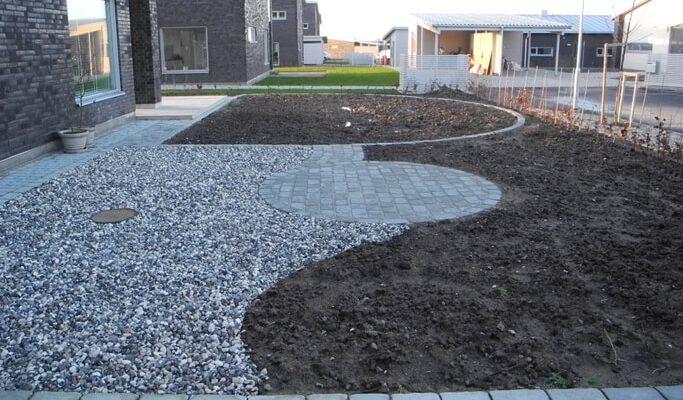 Ny trädgård till nytt hus